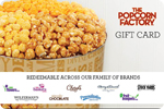 $25 The Popcorn Factory Gift Card